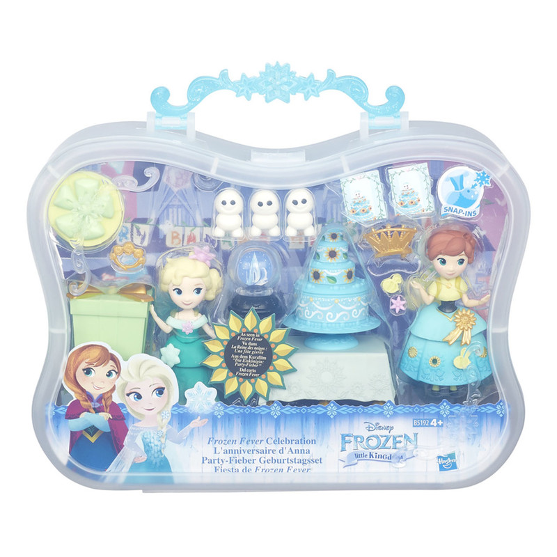 HASBRO - Frozen Mini Bábika v tematickom Sete, Mix Produktov