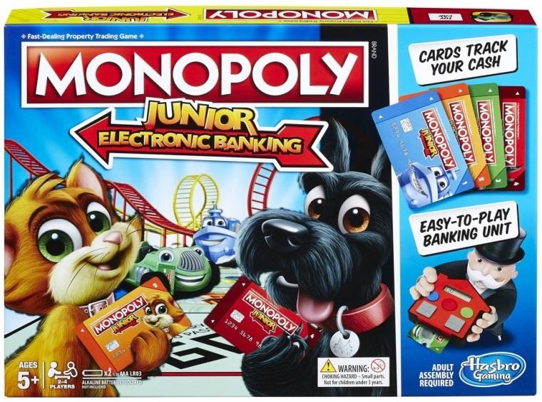 HASBRO - Hasbro Monopoly Junior: Elektronické bankovníctvo