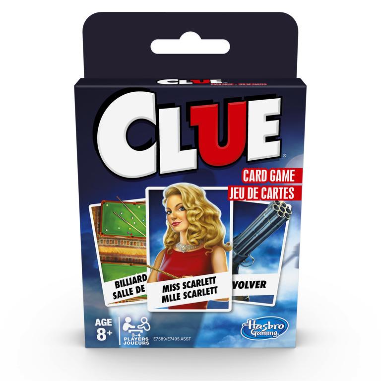 HASBRO - Kartová hra Cluedo