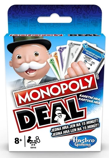 HASBRO - Karty Monopoly deal