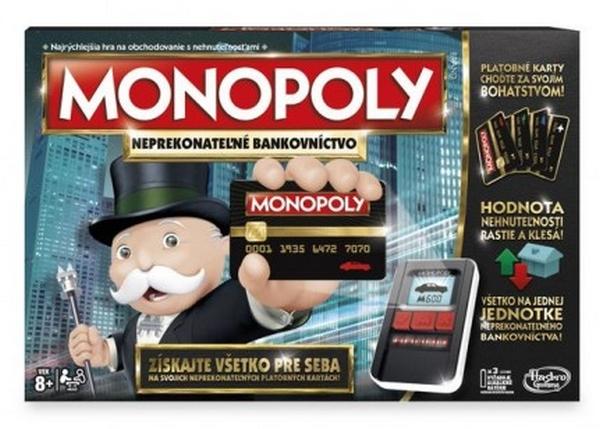 HASBRO - Monopoly: Elektronické bankovníctvo