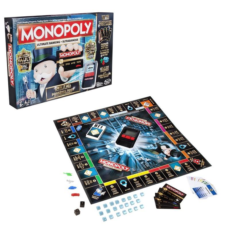 HASBRO - Monopoly Elektronické Bankovníctvo Sk