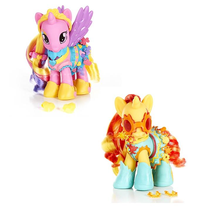 HASBRO - My Little Pony Kúzelný Poník s oblečkom a doplnkami B0360