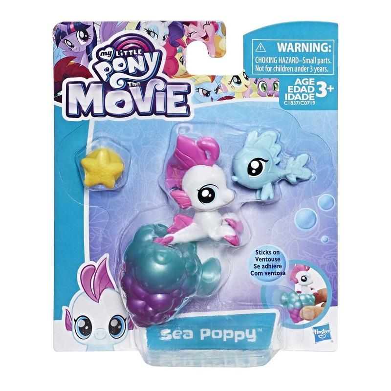 HASBRO - My Little Pony Mini pony s prísavkou a doplnky asst