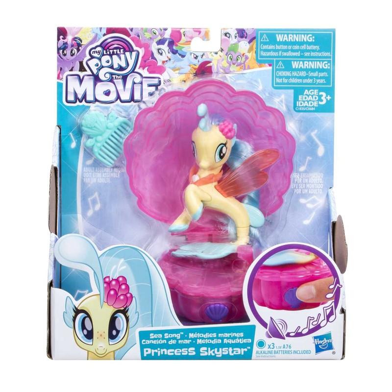 HASBRO - My Little Pony Spievajúci morský poník 7,5cm s doplnkami asst