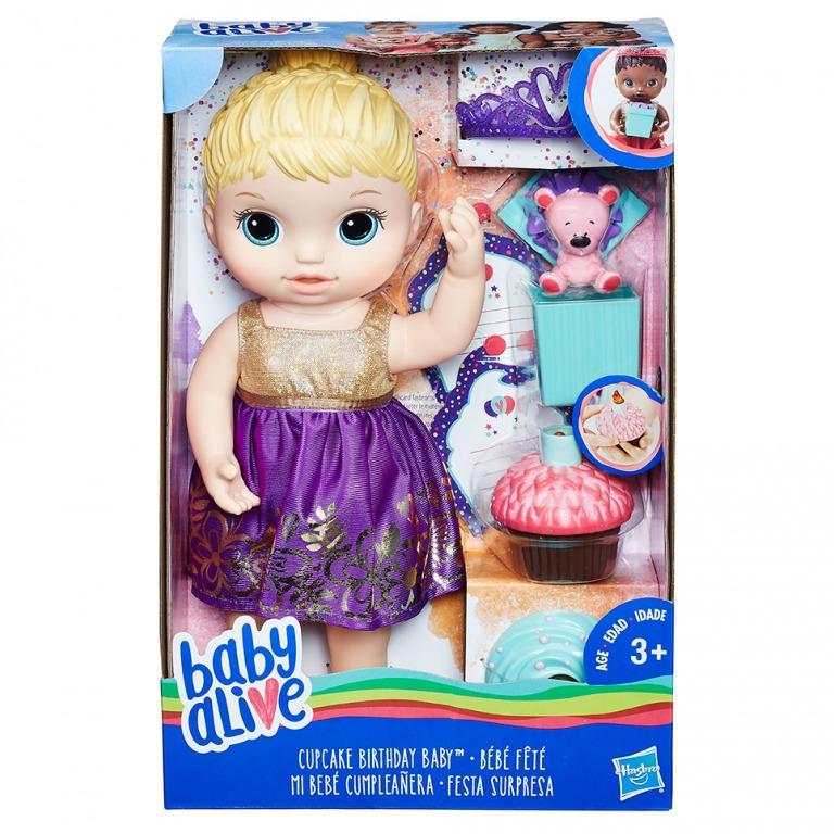 HASBRO - Narodeninová bábika Baby Alive