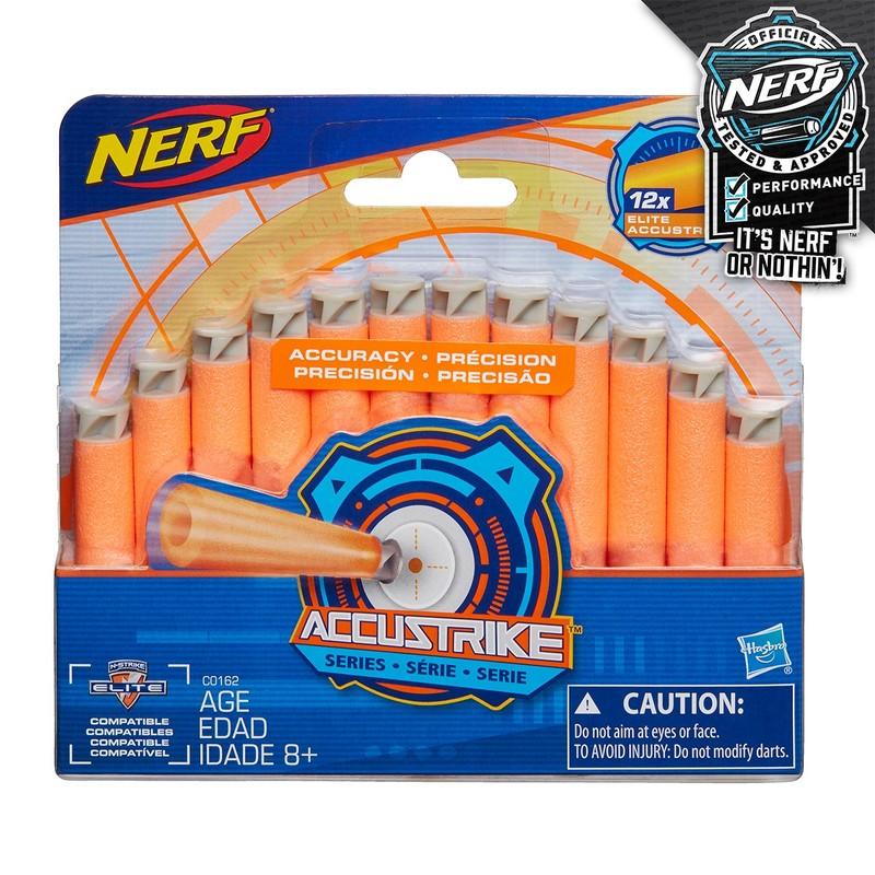 HASBRO - Nerf Accustrike náhradné šípky 12 ks