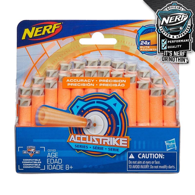 HASBRO - Nerf Accustrike náhradné šípky 24 ks