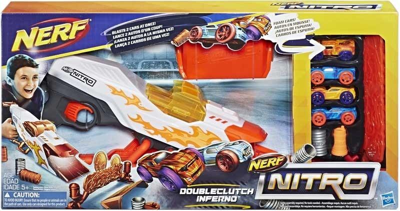 HASBRO - Nerf Nitro Doubleclutch Inferno E0858