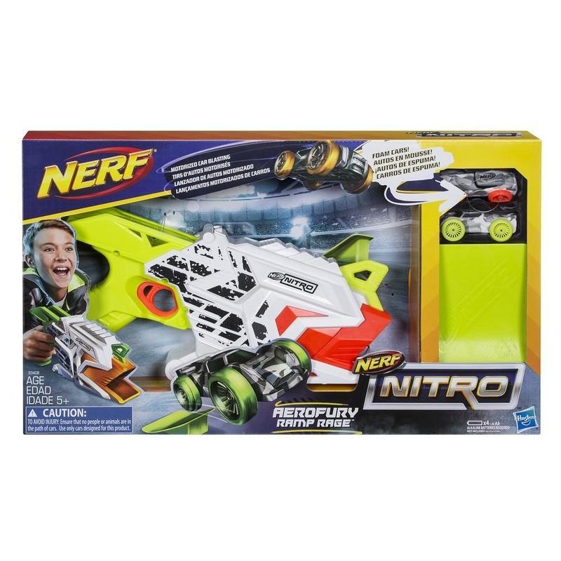 HASBRO - Nerf Nitro Ramp Rage Aerofury E0408