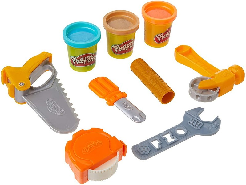 HASBRO - Play-Doh detské náradie Toolin Around sada 9ks