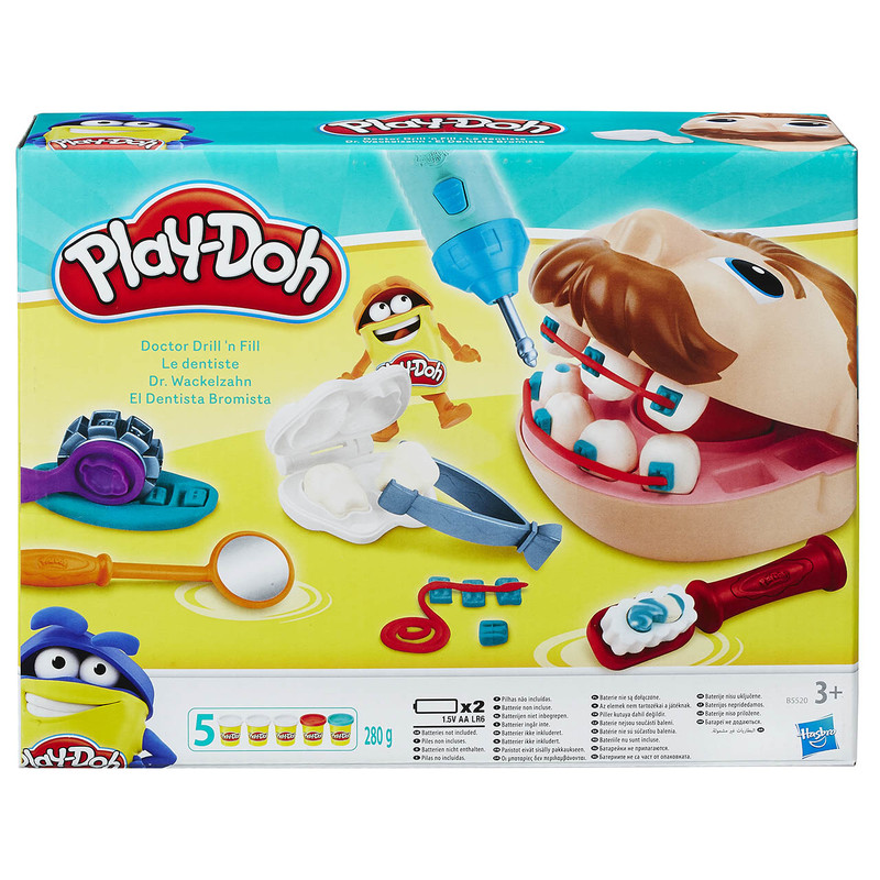 HASBRO - Play Doh Dr Drill\' N Fill