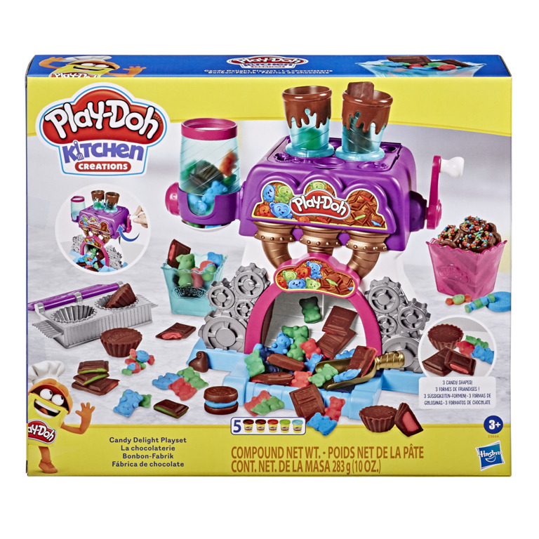 HASBRO - Play-Doh Továreň na čokoládu