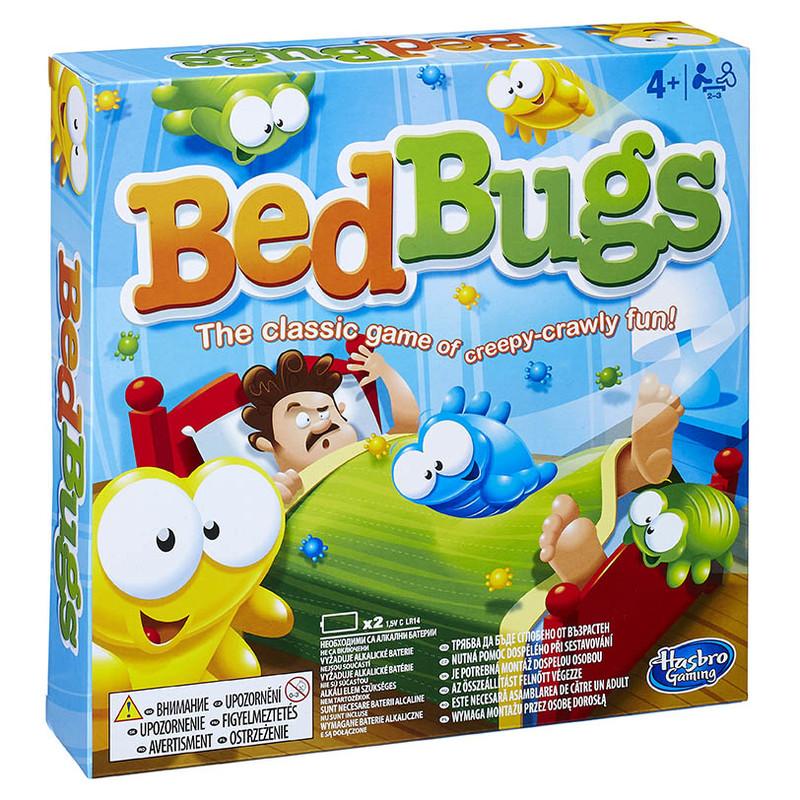 HASBRO - Spoločenská hra Bed bugs