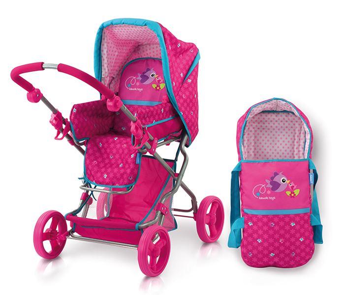 HAUCK - Kočiarik pre bábiky trojkombinácia Birdie