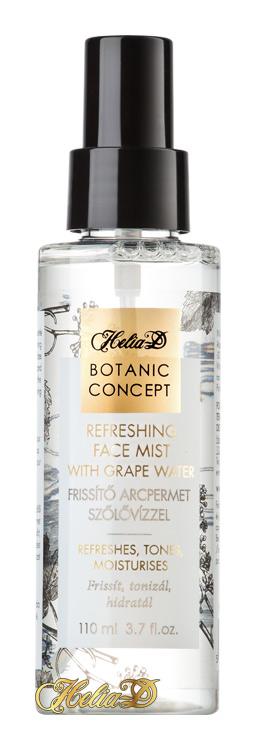 HELIA-D - Botanic Concept Osviežujúca rosa na tvár s hroznovou vodou 110 ml