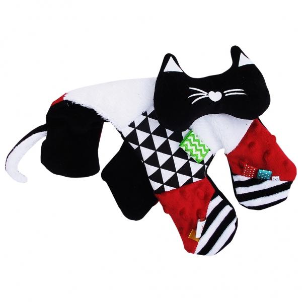 HENCZ TOYS - Edukačná hračka šustík - mačiatka