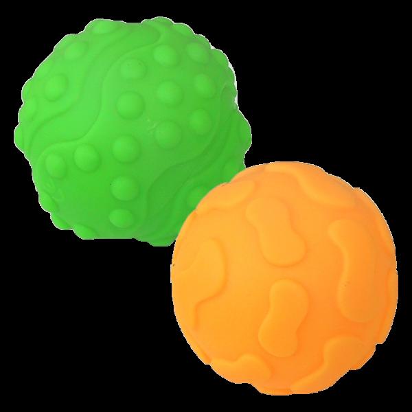 HENCZ TOYS - Edukačné, relaxačné loptičky, 2ks