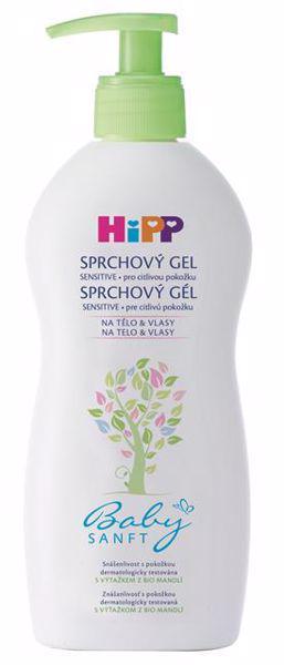 HIPP - Šampón Vlasy&Telo Babysanft 200ml