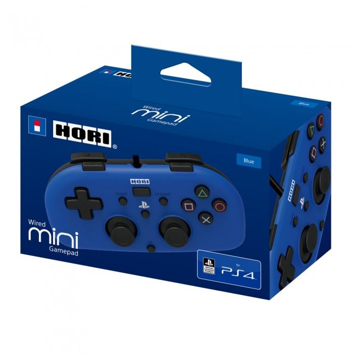 HORI - PS4 HoriPad Mini Wired Controller - Blue