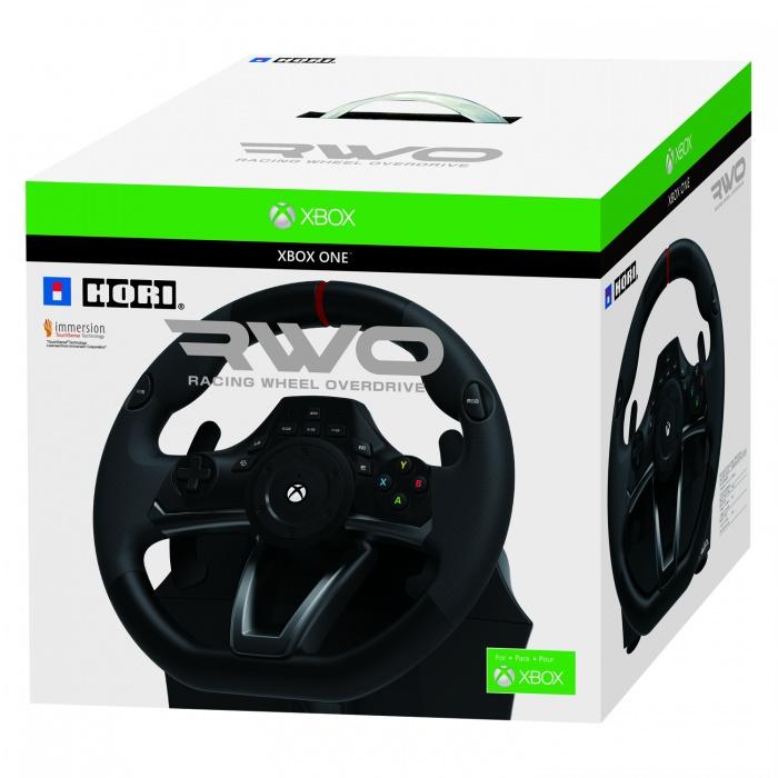 HORI - XONE/PC Racing Wheel: Over Drive, Závodná volant pre Xbox One a PC