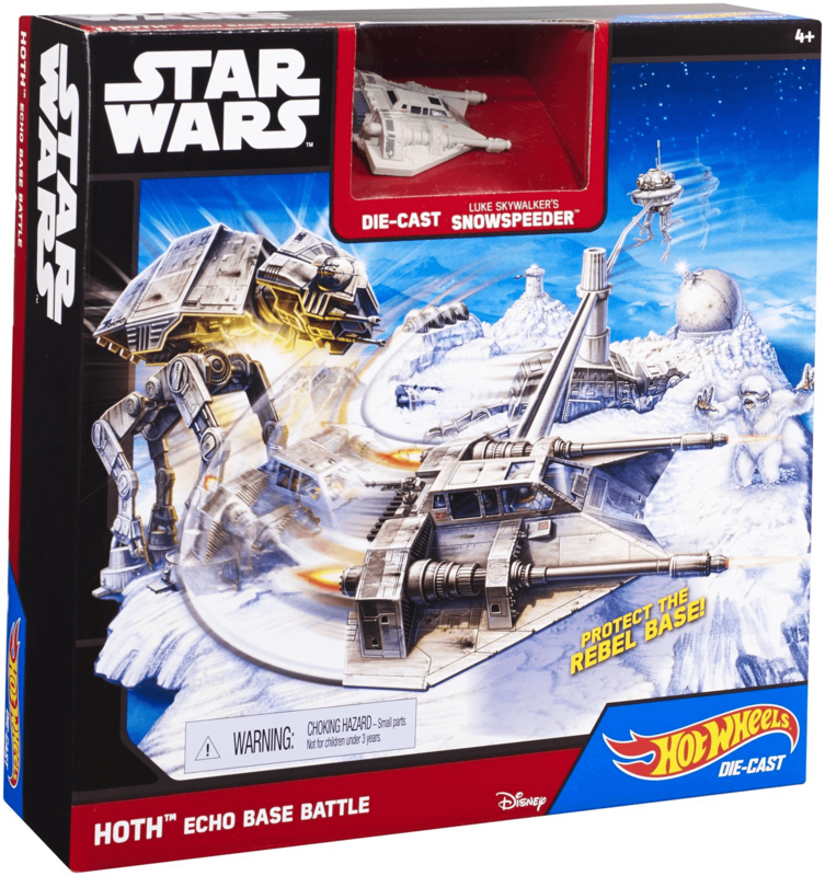 HOT WHEELS - Star Wars Starship Hoth Echo Base Battle hrací set