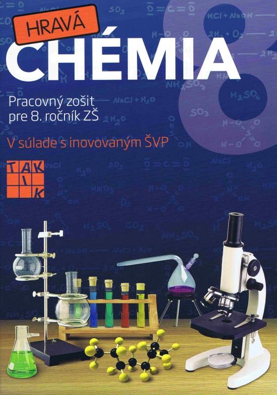 Hravá chémia 8 PZ ( 2.vyd.) - Kolektív autorov