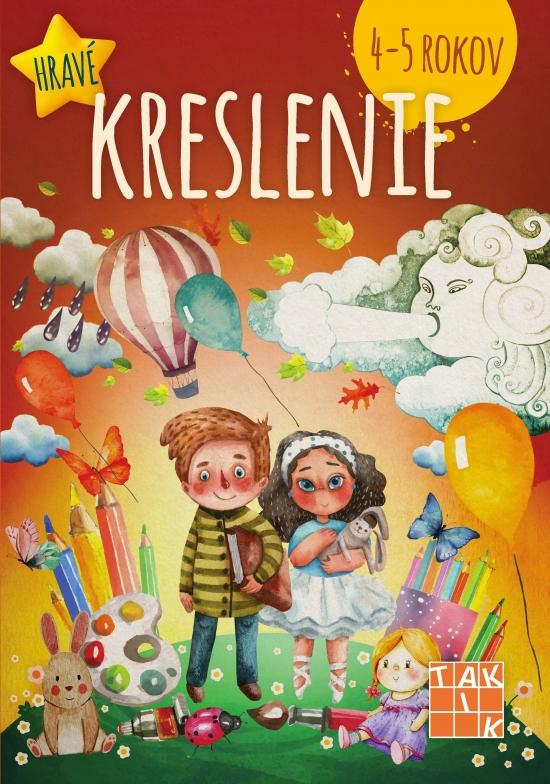 Hravé kreslenie pre deti 4-5 rokov PZ - Dáša Mochňacká,Mária Župová