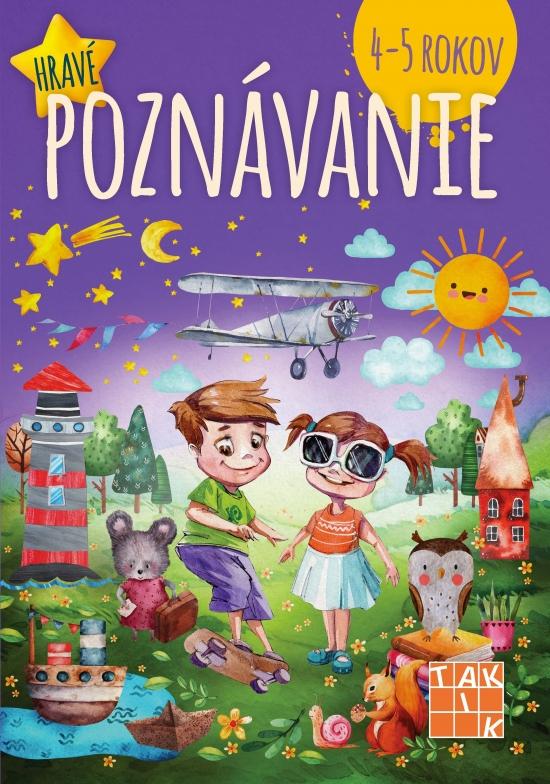 Hravé poznávanie pre deti 4-5 rokov PZ - Dáša Mochňacká,Mária Župová