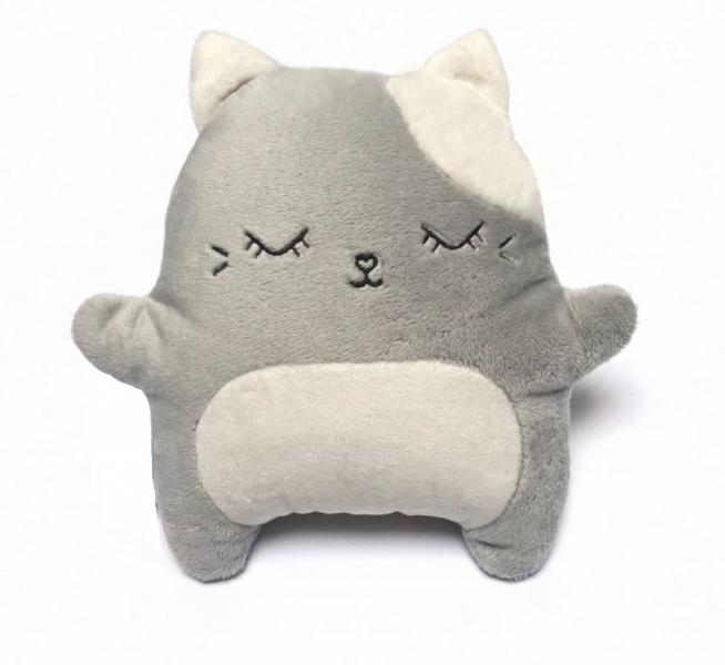 HUSHABLES - Šumivý prítulníček Mačka Hushables - sivý