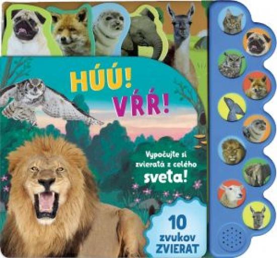 Húú! Mňau! Vrr! Vypočujte si zvieratá z celého sveta!