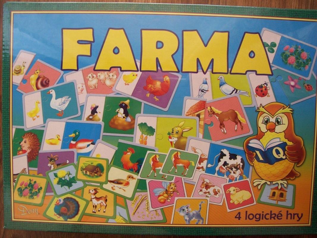 HYDRODATA - Spoločenská hra - FARMA
