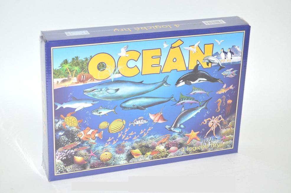 HYDRODATA - Spoločenská hra - OCEÁN