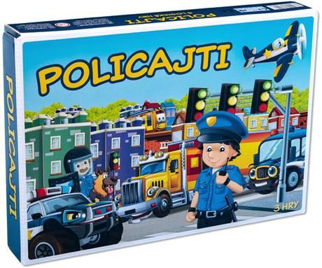 HYDRODATA - Spoločenská hra Policajti