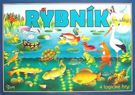 HYDRODATA - Spoločenská hra - RYBNÍK