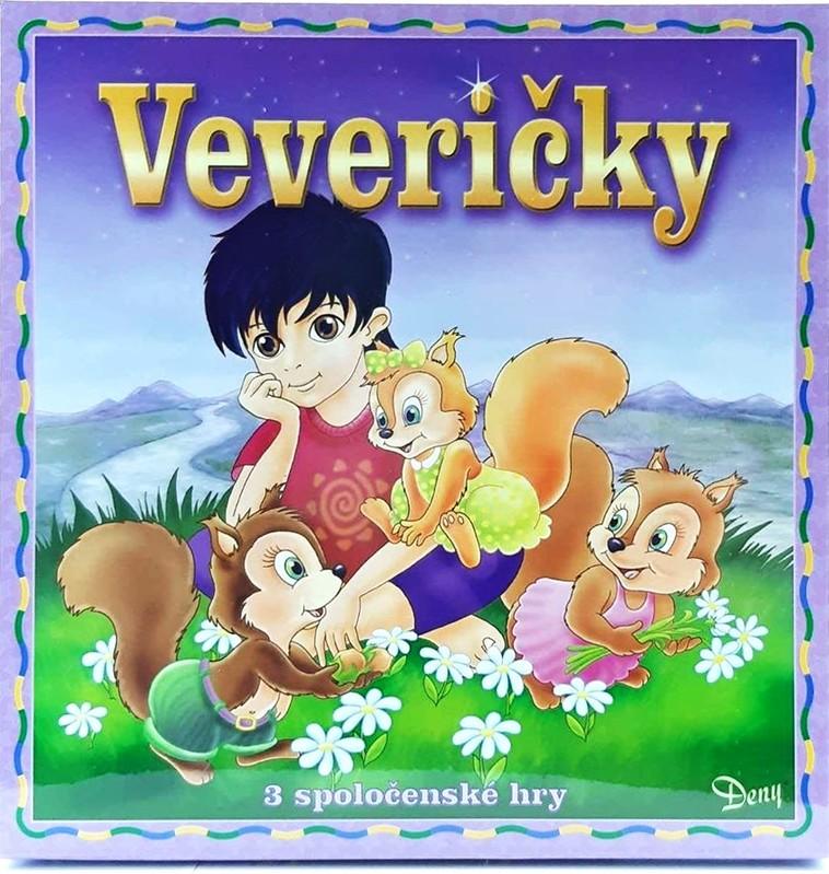 HYDRODATA - Spoločenská hra Veveričky