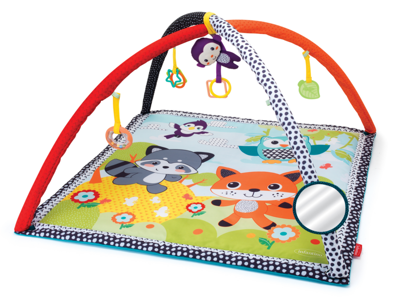 INFANTINO - Hracia deka s hrazdičkou Safari