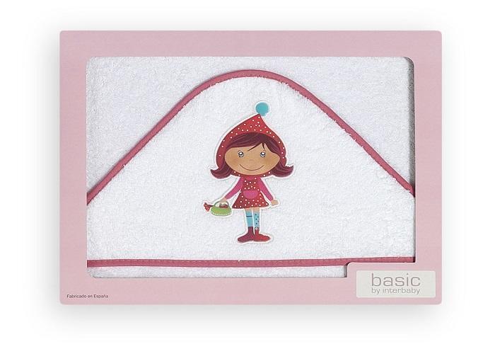 INTERBABY - Osuška froté - Kvetinové dievčatko