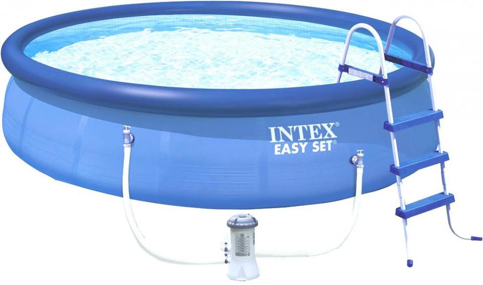 INTEX - 26168 Easy Set bazén s filtráciou 457x122cm