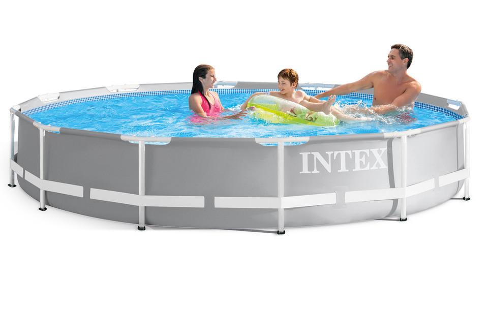 INTEX - 26712 Bazén Prism Frame s kartušovou filtráciou 366x76cm
