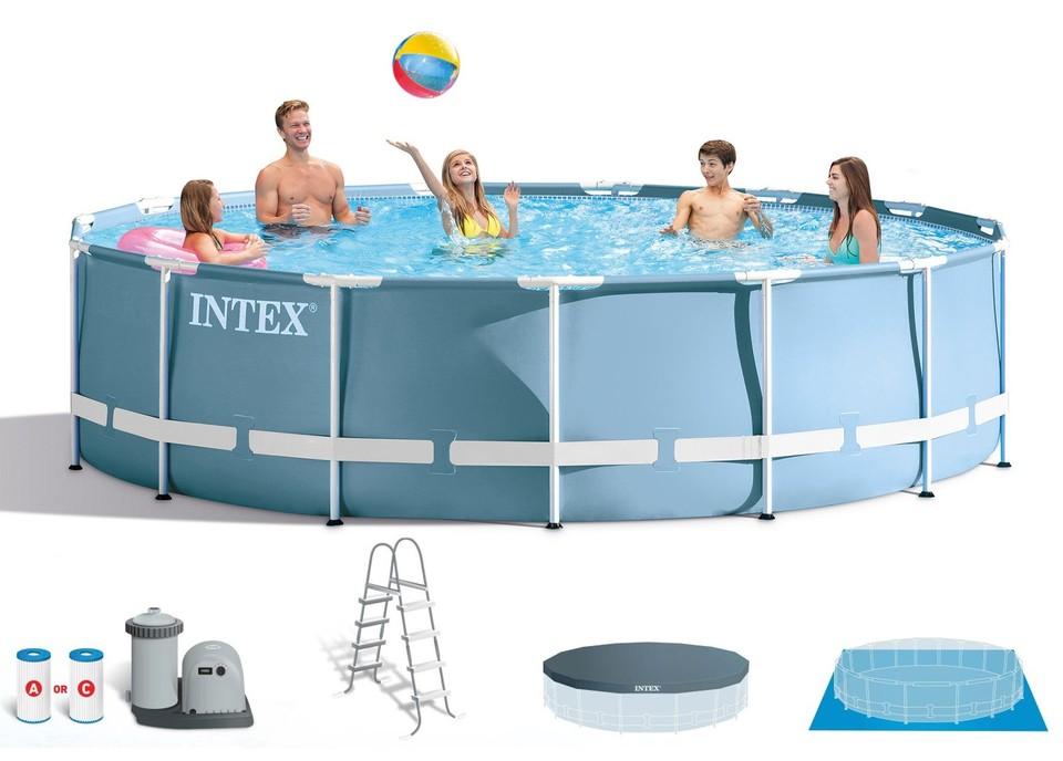 INTEX - 26726 Bazén Prism Frame 457x122m