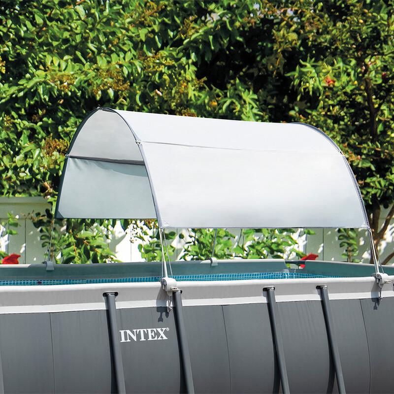 INTEX - 28054 Solárny prístrešok pre bazény s obdĺžnikovým a oválnym rámom