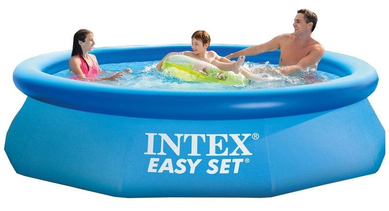 INTEX - 28122 Bazén Easy Set s kartušovou filtráciou 305x76cm
