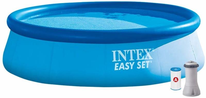 INTEX - 28132 Bazén Easy Set Pool s kartušovou filtráciou 366x76cm