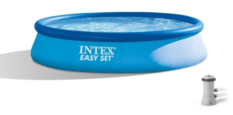 INTEX - 28142 Bazén Easy Set s kartušovou filtráciou 396x84cm
