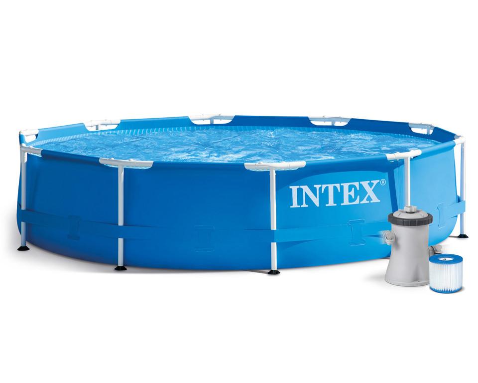 INTEX - 28202 Bazén s konštrukciou 305x76cm
