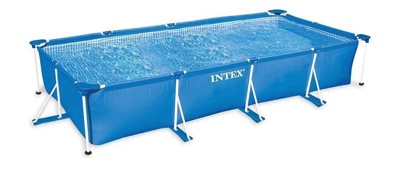 INTEX - 28273 Bazén Frame Pool Set Family 450x220x84cm