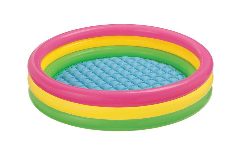 INTEX - 57422 Dúhový bazén 147x33cm