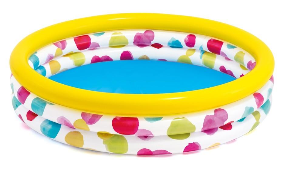 INTEX - 58439 Cool dots pool Detský bazén 147x33cm