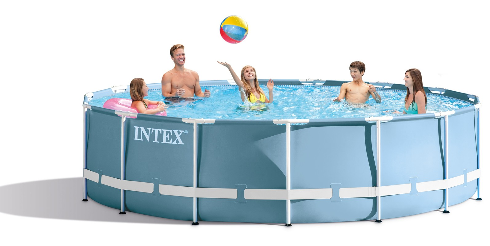 INTEX - Bazén 549x122cm INTEX Prism Frame 28752 set 6v1
